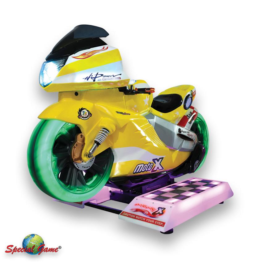 2 moto x gialla